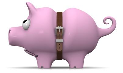 Свинка-копилка в кризис
