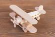 wooden model of plane - 76510164