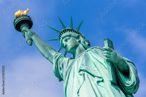 Foto op Canvas New York City Statue of Liberty New York American Symbol USA