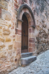 Old door in Siguenza, Guadalajara