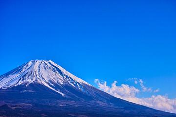 山梨側から見た富士山