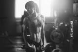 Fototapety Athletic woman