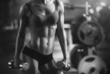 Fototapety Athletic woman