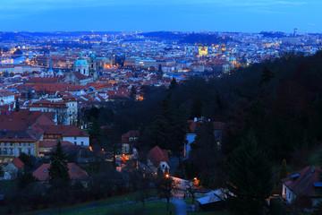 Evening Prague City, Czech Republic