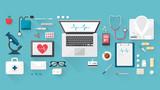Doctor's desktop - 76513363