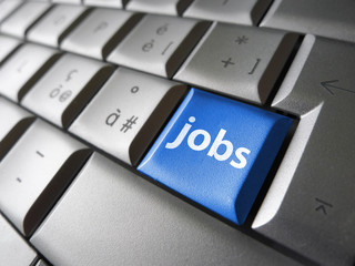 Online Jobs Search Concept