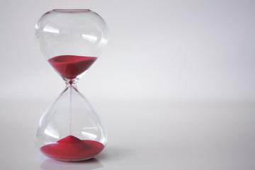 Red Sand Clock