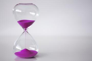 Pink Sand Clock