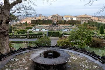 The Gardens Of Villa Lante Bagnaia Italy