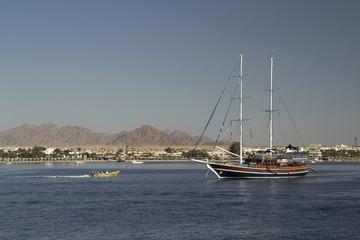 Ship in the bay
