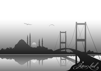Farklı bir Istanbul  silueti 2
