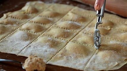 Agnolotti Pasta Cut