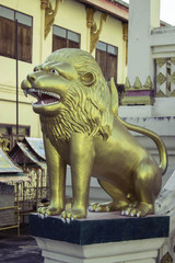 Thailand Thai temple art of Thailand Isaan.