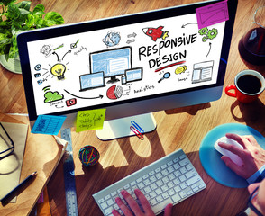 Responsive Design Internet Web Online Browsing Concept