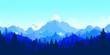 Flat landscape - 76530794