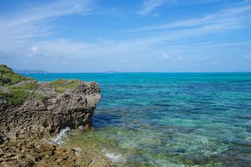 沖縄県 黒島 西の浜