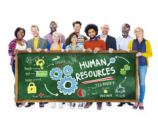 Human Resources Employment Job Teamwork Students Concept