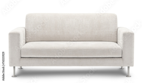 sofa furniture isolated on white background - 76535929