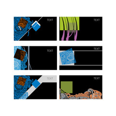Set abstract card.