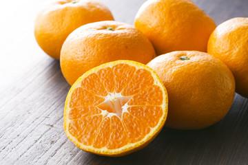 みかんの集合 Mandarin orange Mikan