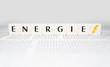 canvas print picture - Illustration zum Thema Energie