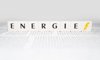 Illustration zum Thema Energie