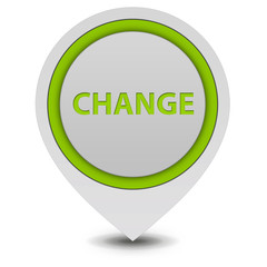 Change pointer icon on white background