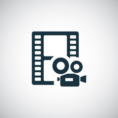 video film icon