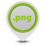 .png pointer icon on white background poster