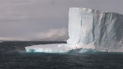 Large Tabular Iceberg in the Wedell Sea Antarctica