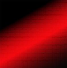 Modern red and black background