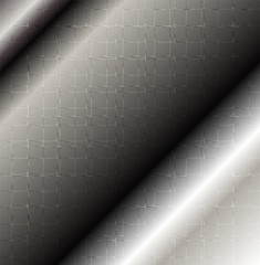 Metallic pattern design abstract
