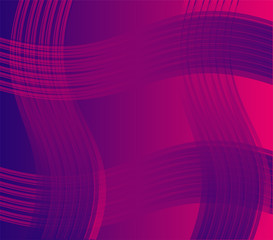 Purple wave background