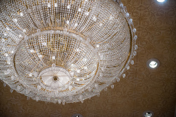 beautiful crystal chandelier for decoration