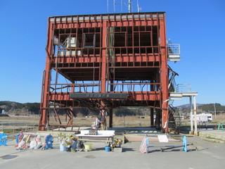 防災対策庁舎の津波被害