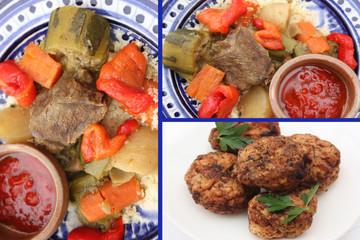 Couscous aux boulettes à la Tunisienne