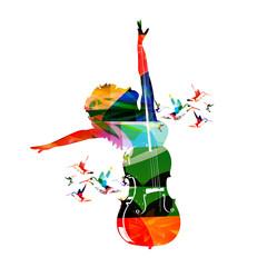 Colorful music design