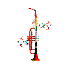 Trumpet and saxophone design