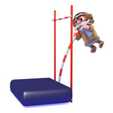 3d Pilot does the pole vault