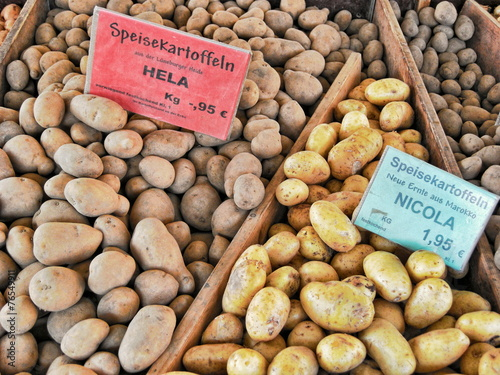 Leinwanddruck Bild Kartoffeln