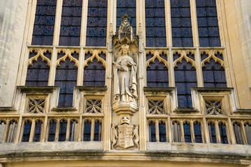 Bath abbey church, Bath Spa city, England