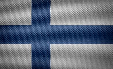 Finnish fabric flags