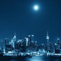 Moon Rise Manhattan