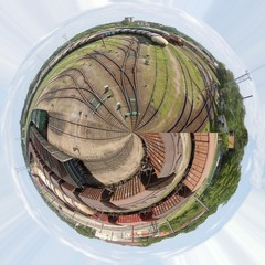 Railroad planet