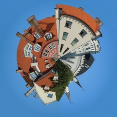Old-style dwelling planet