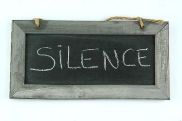 ardoise silence