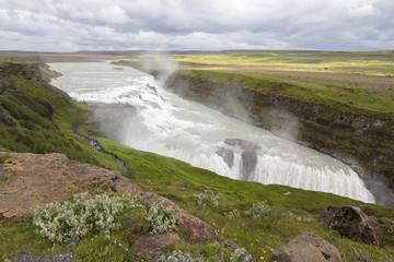 Gulfoss waterfall 2