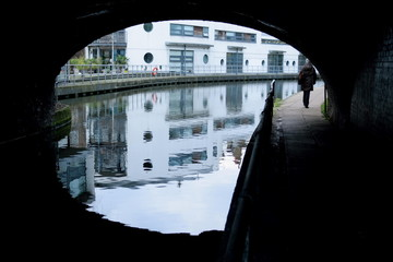 Regent's Canal at Camden Town, London