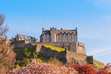 Edinburgh Castle under a clear sky