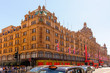 View of famous department store Harrods - 76556343